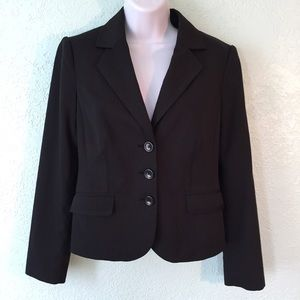 The Limited Collection Black/gray blazer size 4